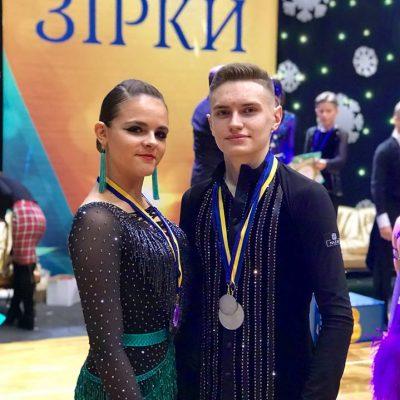 Солодуха Христина тренер Спортивні бальні танці
